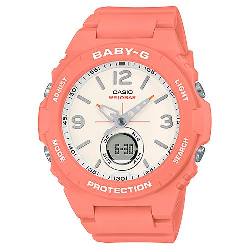 CASIO(カシオ) BGA-260-4AJF ピンク Baby-G [クォーツ腕時計(レディースウォッチ)]