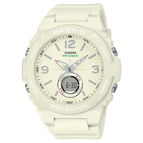CASIO(カシオ) BGA-260-7AJF ホワイト Baby-G [クォーツ腕時計(レディースウォッチ)]