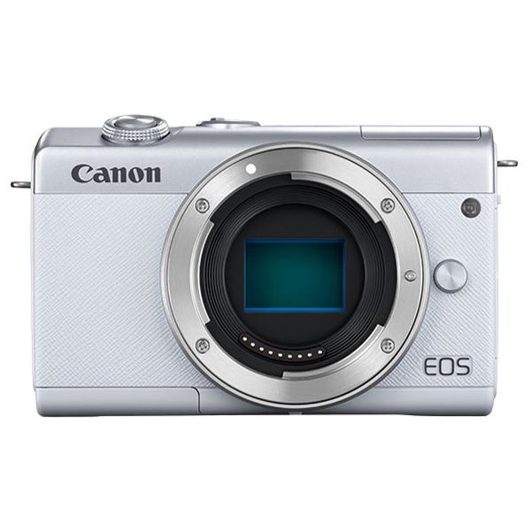 CANON EOS M200 ボディ ホワイト [ミラーレス一眼カメラ(2410万画素)]