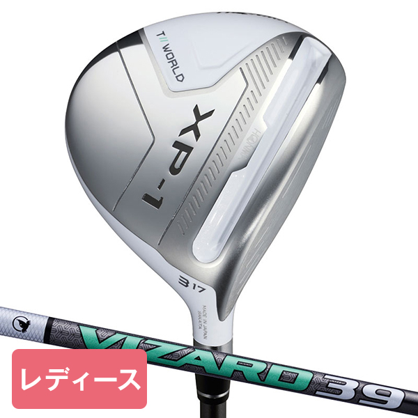 本間ゴルフ(HONMA) ツアーワールド TW XP-1 レディースフェアウェイウッド VIZARD 39 シャフト #5 L 【日本正規品】