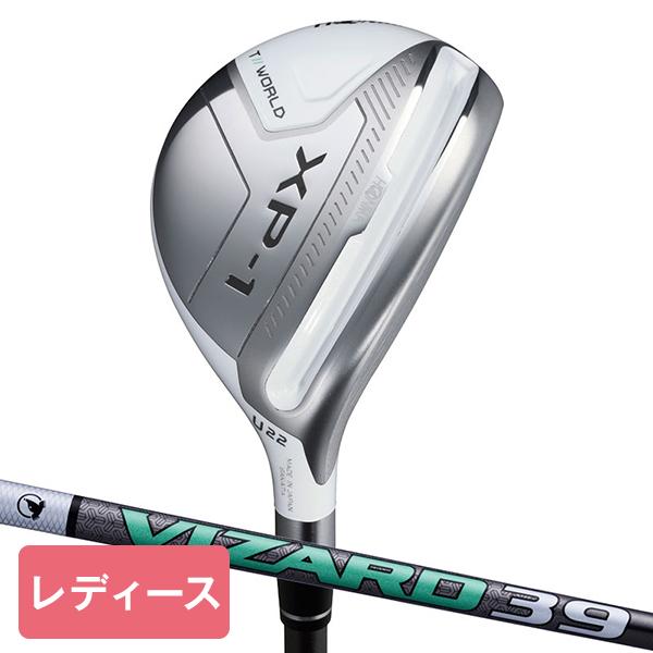 本間ゴルフ(HONMA) ツアーワールド TW XP-1 レディースユーティリティ VIZARD 39 シャフト U28 L 【日本正規品】