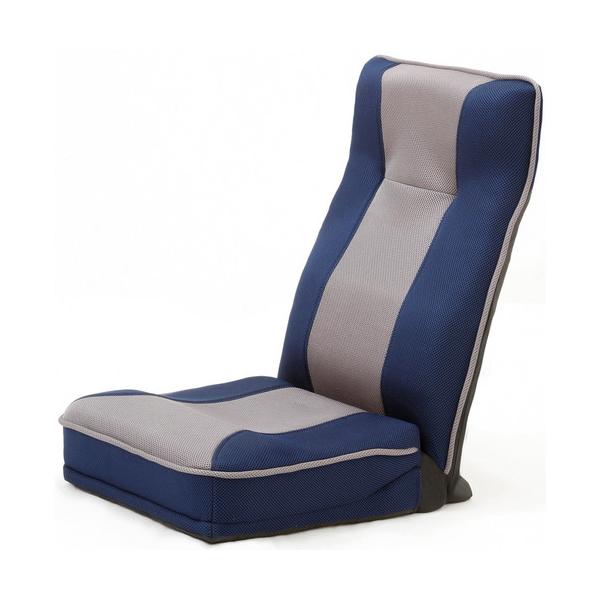 ファミリー・ライフ 整体師さんが推奨する 健康ストレッチ座椅子 ブルー(0373620)【同梱配送不可】【代引き・後払い決済不可】【沖縄・離島配送不可】