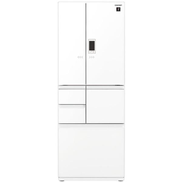 SHARP SJ-AF50F-W ピュアホワイト [6ドア冷蔵庫 (502L・フレンチドア)]【代引き・後払い決済不可】