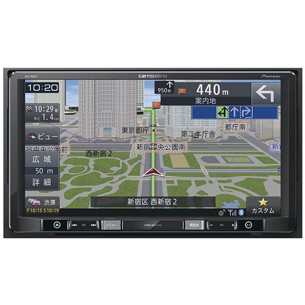 PIONEER AVIC-RQ903 楽ナビ [9V型HD 地デジチューナー・AV一体型メモリーナビゲーション LS(ラージサイズ)]