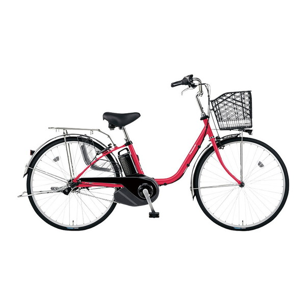 PANASONIC BE-ELSX432-R レッドジンジャー ビビ・SX [電動アシスト自転車(24インチ・内装3段)] メーカー直送
