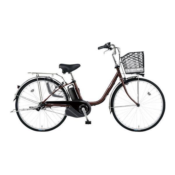 PANASONIC BE-ELSX432-T チョコブラウン ビビ・SX [電動アシスト自転車(24インチ・内装3段)] メーカー直送