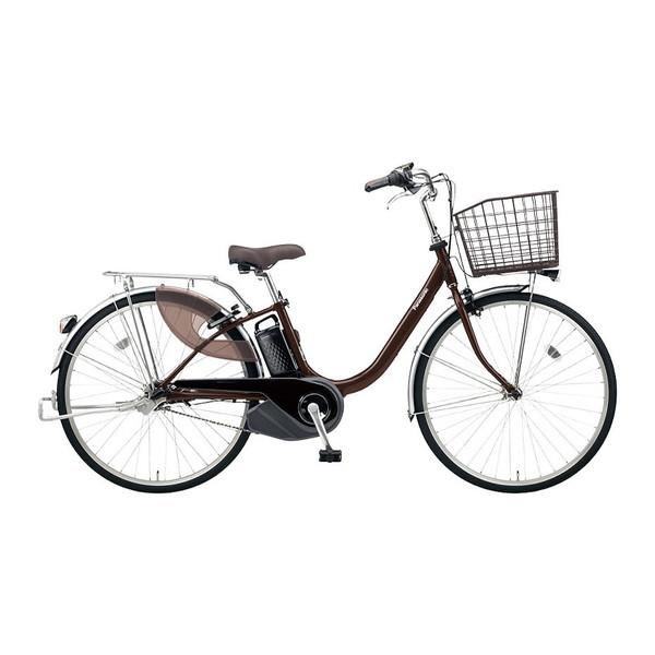 PANASONIC BE-ELL632-T チョコブラウン ビビ・L [電動アシスト自転車(26インチ・内装3段)] メーカー直送