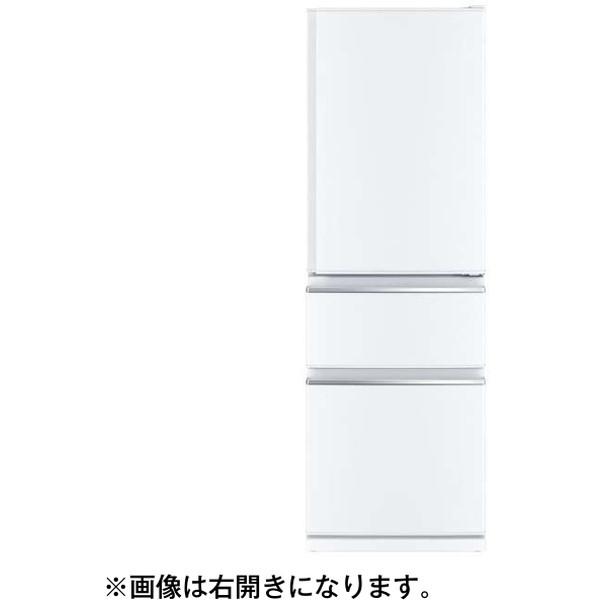 MITSUBISHI MR-CX37E-L-W パールホワイト CXシリーズ [3ドア冷蔵庫 (365L・左開き)]【代引き・後払い決済不可】