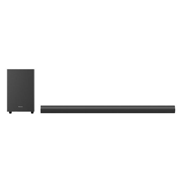 Hisense ハイセンス シアターサウンドシステム スピーカー サウンドバー ホームシアター (2.1ch /Bluetooth対応) HS210 ブラック 映画 ゲーム 音楽
