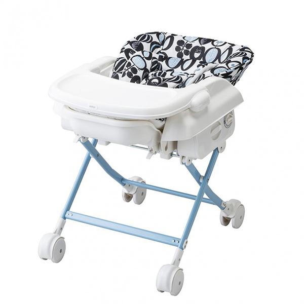 KATOJI スイングハイローラック プルーン モノクロフルーツ カトージ ハイローチェア リクライニング バウンサー ラック ベビーチェア 子供用 チェア イス いす 椅子 赤ちゃん 安全ベルト ハイチェア 子供用椅子
