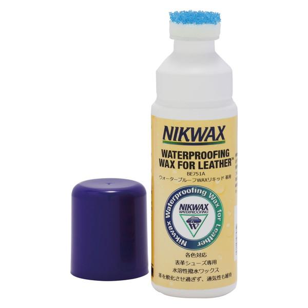 表革専用の撥水剤 EVERNEW EBE751A NIKWAX(ニクワックス) [ウォータープルーフWAXリキッド 革用]