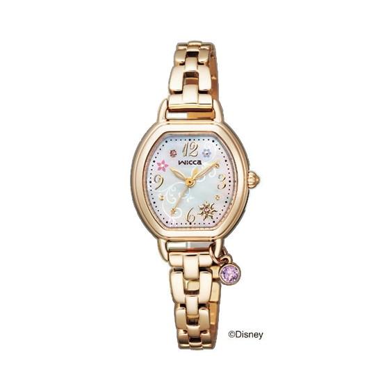 CITIZEN(シチズン) KP2-523-91 ウィッカ Disneyコレクション 塔の上のラプンツェル 限定モデル [ソーラー電波腕時計(レディース)]