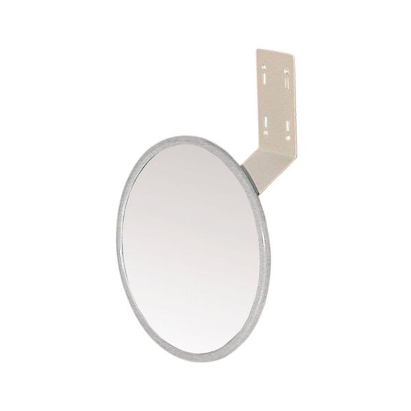 <title>鏡面がガラス製ですので 映りが鮮明です 信栄物産 平面ミラー 上質 丸型 TM-20A φ210 0350-00198</title>