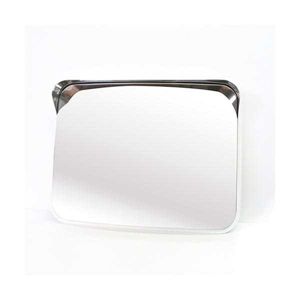 信栄物産 ステンレスミラー S-5W 角型 485×375(白) 【0350-00235】