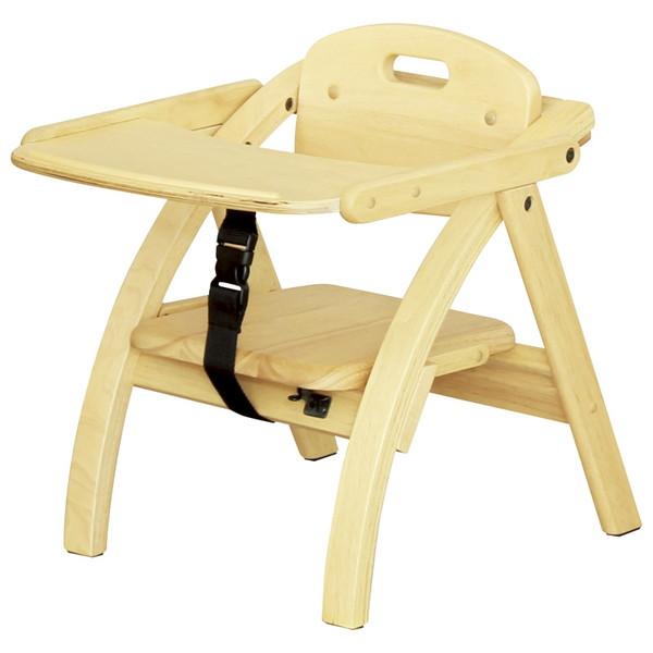 アーチ木製ローチェアー