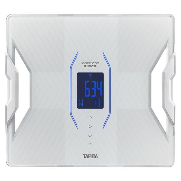 タニタ 体重計 体組成計 体脂肪計 RD-912-WH パールホワイト 白 TANITA スマホ連動 アプリで管理 日本製 バックライト Bluetooth iphone Android 推定骨量 筋肉量 内臓脂肪 RD-906の後継品 RD912