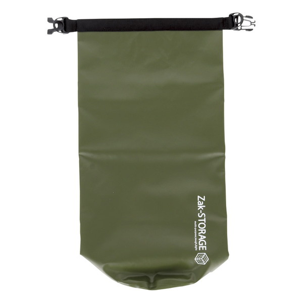 防水性に優れたPVCターポリン素材を使用。肩掛け・手持ちの2Wayでの使用が可能。丸洗いOK!お手入れカンタン。濡れた衣類などの収納にも!肩掛けベルト付き。 Zak-STORAGE ウォーターレジストバッグ WRB-2G