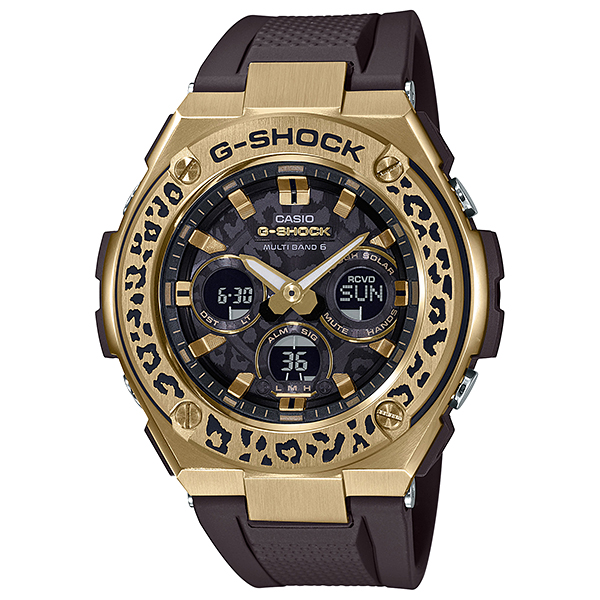 CASIO(カシオ) GST-W310WLP-1A9JR G-SHOCK LOVE THE SEA AND THE EARTH WILDLIFE PROMISING コラボレーションモデル [ソーラー充電腕時計(メンズ)]