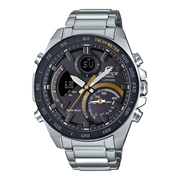 CASIO(カシオ) ECB-900YDB-1CJF エディフィス [ソーラー充電腕時計(メンズ)]