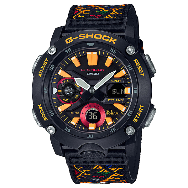 CASIO(カシオ) GA-2000BT-1AJR G-SHOCK Traditional Pattern Series Bhutan Textile [クォーツ腕時計(メンズ)]