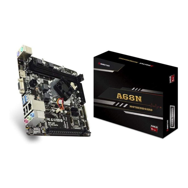 BIOSTAR A68N-5600E [Mini-ITXマザーボード(AMD CPU「A4-3350B」搭載)]