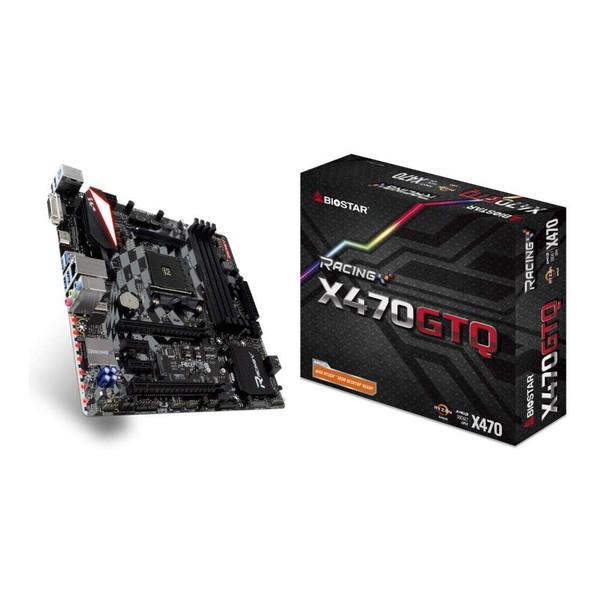 BIOSTAR X470GTQ [MicroATXマザーボード(AMD X470チップセット搭載)]