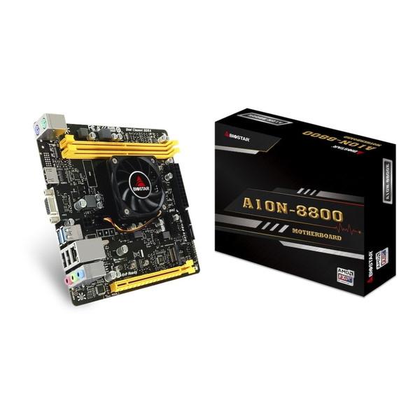 BIOSTAR A10N-8800EV6.1 [Mini-ITXマザーボード(APU「FX-8800P」搭載)]