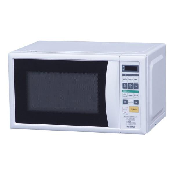[数量限定特価]アイリスオーヤマ 電子レンジ IMBH-T17-6 [単機能レンジ (17L・60Hz) 西日本用 ターンテーブル ]