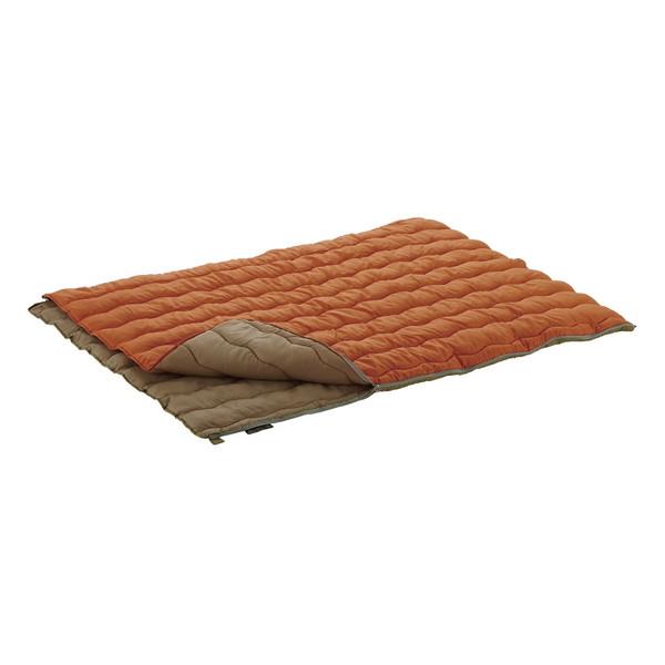 LOGOS ロゴス 2in1・Wサイズ丸洗い寝袋・2 シュラフ アウトドア レジャー キャンプ 封筒型 スリーピングバッグ 車中泊 コンパクト No.72600680