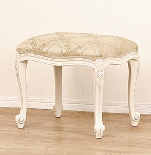 【送料無料】クロシオ 92176 フランシスカ 椅子 チェア スツール ホワイト【同梱配送不可】【代引き不可】【沖縄・離島配送不可】