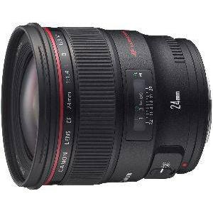 CANON EF24mm F1.4L II USM [大口径・広角単焦点レンズ]