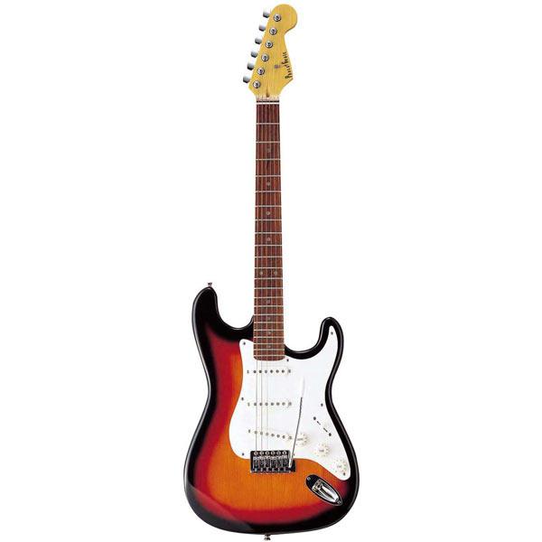 【送料無料】PhotoGenic エレキギター サンバースト ST-180