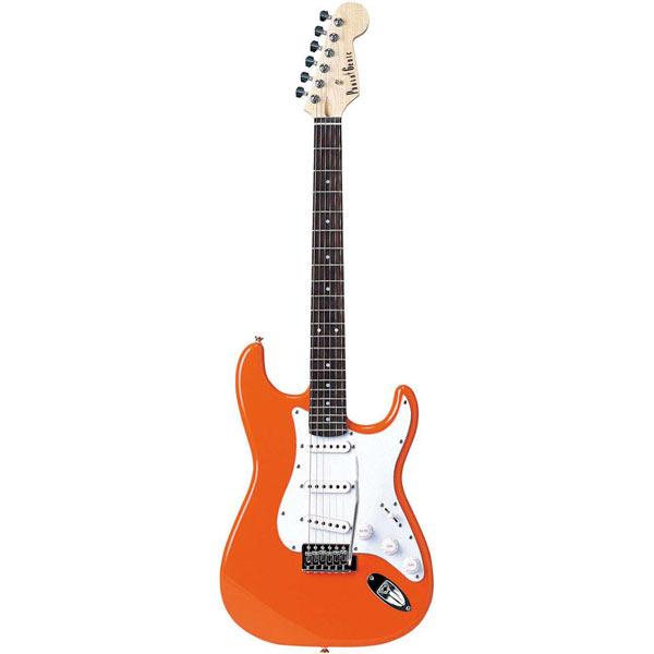 【送料無料】PhotoGenic エレキギター オレンジ ST-180