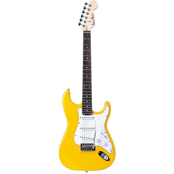 【送料無料】PhotoGenic エレキギター イエロー ST-180