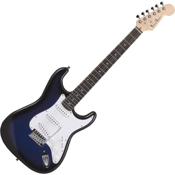 【送料無料】PhotoGenic エレキギター ブルーサンバースト ST-180