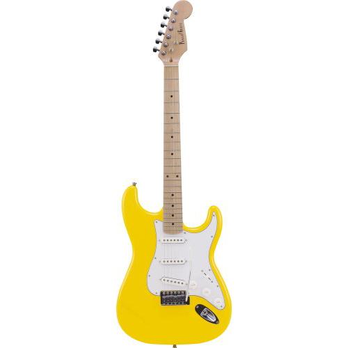 【送料無料】PhotoGenic エレキギター イエロー ST-180M