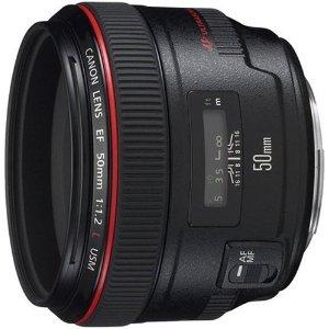【送料無料】CANON EF50mm F1.2L USM [超大口径・標準単焦点レンズ]