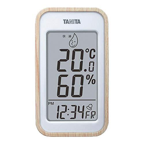 割引も実施中 セール中 激安通販 タニタ デジタル温湿度計 TT-572NA ナチュラル