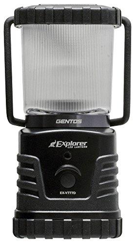 セール中 GENTOS ジェントス LED ランタン 明るさ360ルーメン 実用点灯27-78時間 エクスプローラー 送料無料でお届けします 激安☆超特価 防滴 停電時用 ANSI規格準拠 防災 あかり EX-V777D
