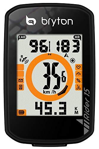 定番  【セール中】BRYTON(ブライトン) GPSサイクルコンピューター Rider15E ブラック, イイヤマシ bf3d0c25