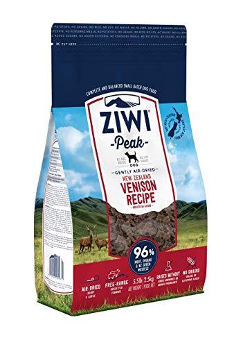 【セール中】ZiwiPeak(ジウィピーク) エアドライ·ドッグフード ベニソン 2.5kg
