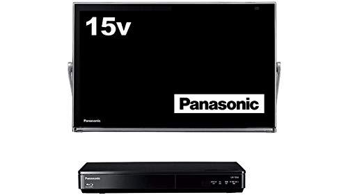 セール中 定番スタイル 市販 パナソニック 15V型 液晶 テレビ ブルーレイディスクプレイヤー付HDDレコーダー付き UN-15TD6-K ビエラ プライベート