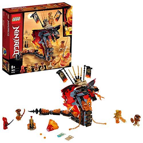 セール中 ご予約品 レゴ LEGO ニンジャゴー 爆炎 年末年始大決算 70674 マグマノオロチ