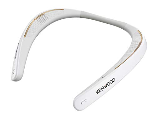 セール中 KENWOOD ケンウッド ウェアラブルネックスピーカー 贈呈 ホワイト JVC CAX-NS1BT-W ワイヤレススピーカー 男女兼用