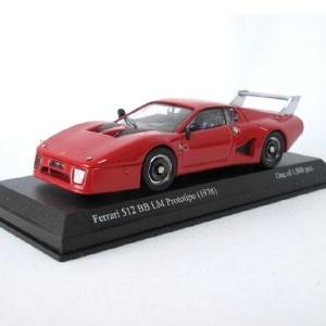 【中古】MODEL BEST(イタリア製) 1/43 フェラーリ512BB LM Prototipo(1978)