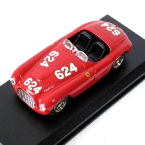 【中古】ART MODEL FerrariStory 1/43 イタリア製 ART008 フェラーリ(Ferrari) 166 MM MILLE MIGLIA 1949 BIONDETTI/SALAMI