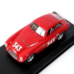 【中古】ART MODEL FerrariStory 1/43 イタリア製 ART010 フェラーリ(Ferrari) 166 MM MILLE MIGLIA 1951 MASSERONI-VIGNOLO