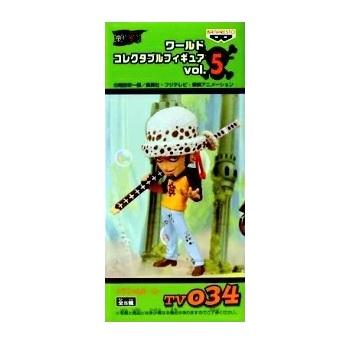 【中古】ワンピース ワールドコレクタブル 034 vol.5 トラファルガー・ロー
