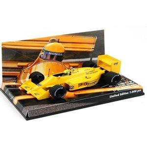 ミニチャンプス ユーロスポーツ 特注モデル 1/43 ロータスホンダ99T 1987 日本グランプリ アイルトンセナ