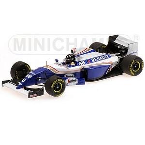 MINICHAMPS 1/43 ウィリアムズ ルノー FW16B デーモン・ヒル ベルギーGP 1994 ウィナー カーナンバー0